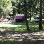 Des campeurs à La Clapère