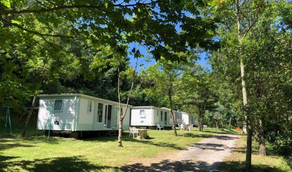 Mobil homes Camping La Clapère